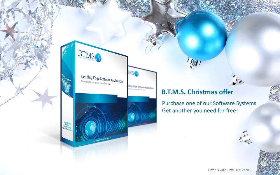Christmas offer from BTMS