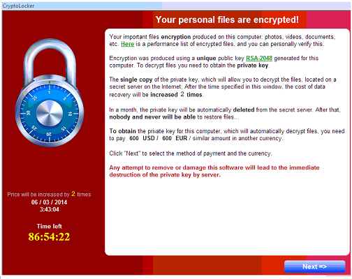 CryptoLocker - How to protect your data